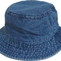 Bucket Hat Boonie Basic Hunting Fishing Outdoor Summer Cap Unisex 100% Cotton
