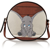 Olympia Le-Tan - Dumbo Ears Dizzie embroidered cotton-canvas shoulder bag