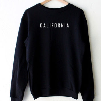 California Sweater - Black