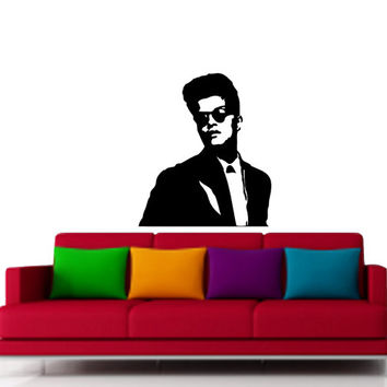 Bruno Mars vinyl art for wall decal - Wall Art and Design Decal