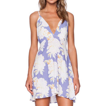 The LDRS Strappy Floral Dress in Magnolia Print