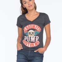Trunk Ltd. Aerosmith Pump Womens Tee Black  In Sizes