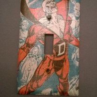 Comic Book Deadman superhero light switch cover