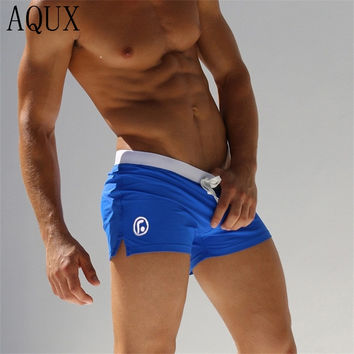 Men's Swimming Trunks Swim Briefs Fitness Swimsuit  Men Swimwear Vintage Sunga Sexy Swimsuits with Zipper Bag maillot de bain