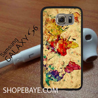 vintage world map For galaxy S6, Iphone 4/4s, iPhone 5/5s, iPhone 5C, iphone 6/6 plus, ipad,ipod,galaxy case