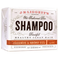J.R. Liggett's Shampoo Bar - Coconut and Argan - 3.5 oz