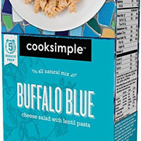 cooksimple All Natural Mix Buffalo Blue Cheese Salad (4 Pack)