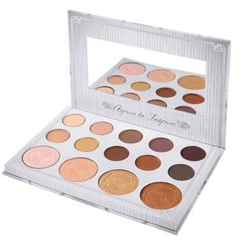 BH Cosmetics Makeup Eye Shadow Palette 14 Colors for Matte Glitter Eyeshadow Make Up Set Waterproof Easy To Wear [8323210369]