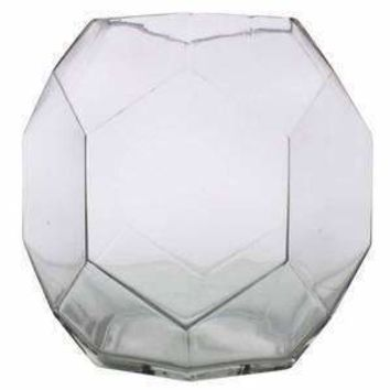 Dodecahedron Glass Vase - Set of 2