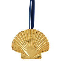 "3"" Shell Ornament, Gold"