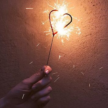 Free People Womens Heart Sparklers