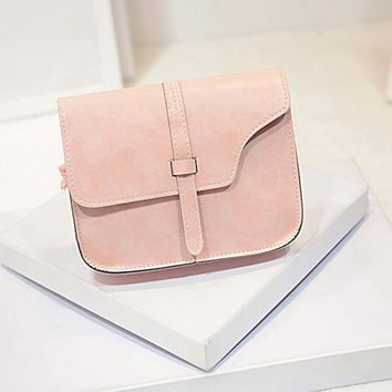 Pretty Pastels Designer Brand Leather Handbag