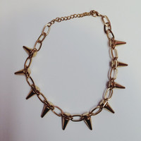 Spike Choker Necklace (more Colors)