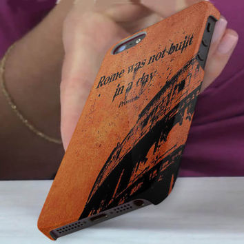 vintage, quote, rome, 3D iPhone Cases for iPhone 4,iPhone 4s,iPhone 5,iPhone 5s,iPhone 5c,Samsung Galaxy s3,samsung Galaxy s4