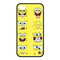 FashionFollower Design Animation Series SpongeBob SquarePants Hot Phone Case Suitable For iphone4/4s IP4WN32909