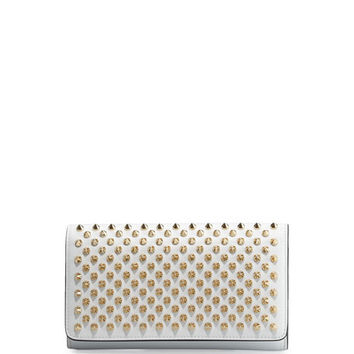 Christian Louboutin Macaron Spiked Flap Wallet