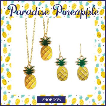 Paradise Pineapple Necklaces