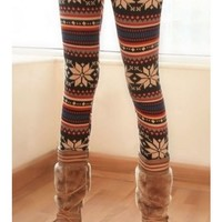 **Free Shipping* Women Multi-Colored Leggings One Size TA135