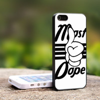 Most DOPE - TCA ND018 -  Print On Hard Cover - For iPhone 4 / 4S Case, iPhone 5 Case ( Black, White, Clear )