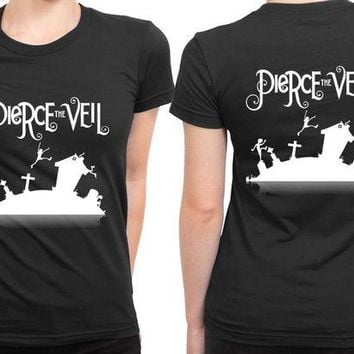 ONETOW Pierce The Veil Cover 2 Sided Womens T Shirt