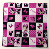 Minnie Mouse Everyday Cloth Napkin, It's All About Minnie,Kids Cloth Napkin