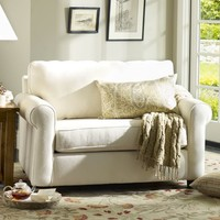 BUCHANAN ROLL ARM UPHOLSTERED TWIN SLEEPER SOFA