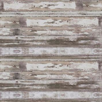 Gray Washed Wood Candy Floor Drop - 8x8 - LCCF7203 - Last Call