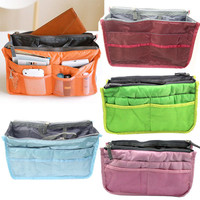 Colorful Purse Wallet Handbag Totes Large Organizer Insert Bag Evening Handbag