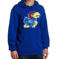 NCAA Kansas Jayhawks Playbook Fleece Hoodie Men's