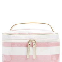 kate spade new york 'java place - large natalie' cosmetics case - Rose Jade/ Cream