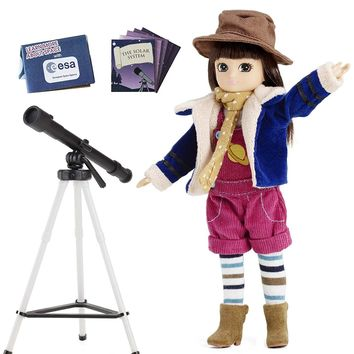 Stargazer Lottie Doll - Includes Telescope, Tripod and Much More!