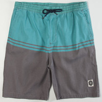Rip Curl Mendocino Mens Volley Shorts Charcoal  In Sizes