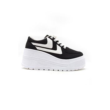 Best Black Platform Sneakers Products on Wanelo 27a27f433