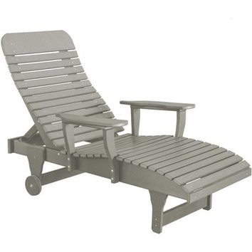 Wildridge Heritage Recycled Plastic Chaise Lounge