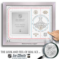 NHL Ice Effects Frames - 2011 Stanley Cup Champions Boston Bruins
