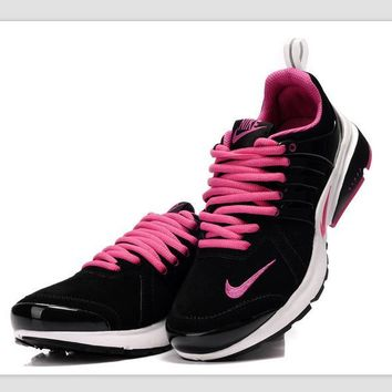 NIKE new lightweight casual shoes sports shoes Black Pink