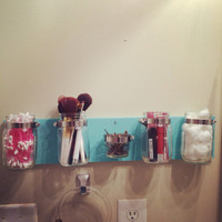 This is the perfect storage piece for your bathroom or anywhere in your home!