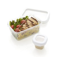 OXO® White 2-Piece Locktop Lunch Container