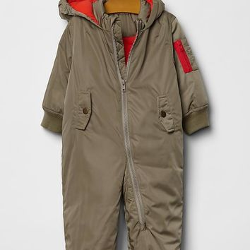 Gap Baby Warmest Flight Puffer One Piece