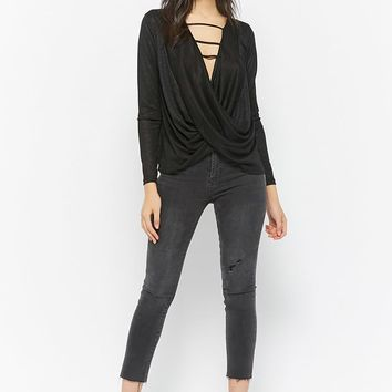 Ladder Surplice Top