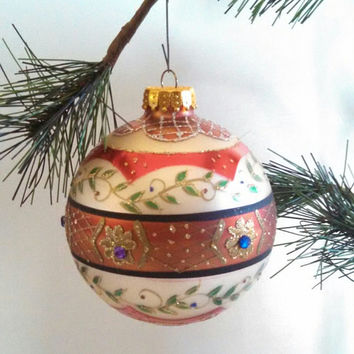 Vintage Christmas Tree Ornament Holiday Home Decor