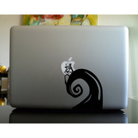 Nightmare Before Christmas -Mac Book Mac Book Air Mac Book Pro Mac Sticker Mac Decal Apple Decal Mac Decals