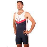 Men's USA Star Trick with Vertical Stripe Unisuit : Race in JL