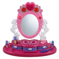 Dresser Mirror Vanity Beauty Set with Jewelry for Kids