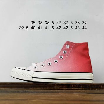 Kuyou Fa19630 Converse Chuck Taylor All Star Pastel Hi Pink High Top Canvas Shoes