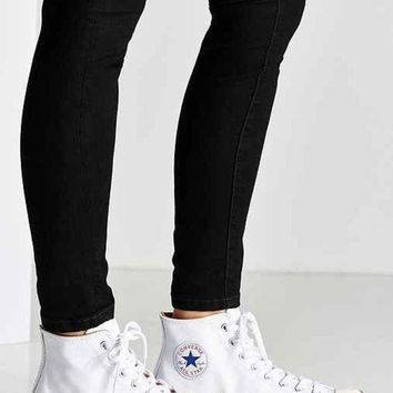 LMFON converse all star chuck 70 leather high top sneaker