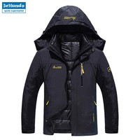 Ski Jacket Men Waterproof Snow Jacket Thermal Coat For Outdoor Mountain Skiing Snowboard Jacket Plus Size Brand