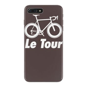 le tour bike silhouette 2015 de france new iPhone 7 Plus Case