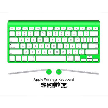 The Solid State Lime Green Skin For The Apple Wireless Keyboard