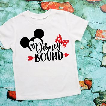 Disney Bound Kids Graphic Tee